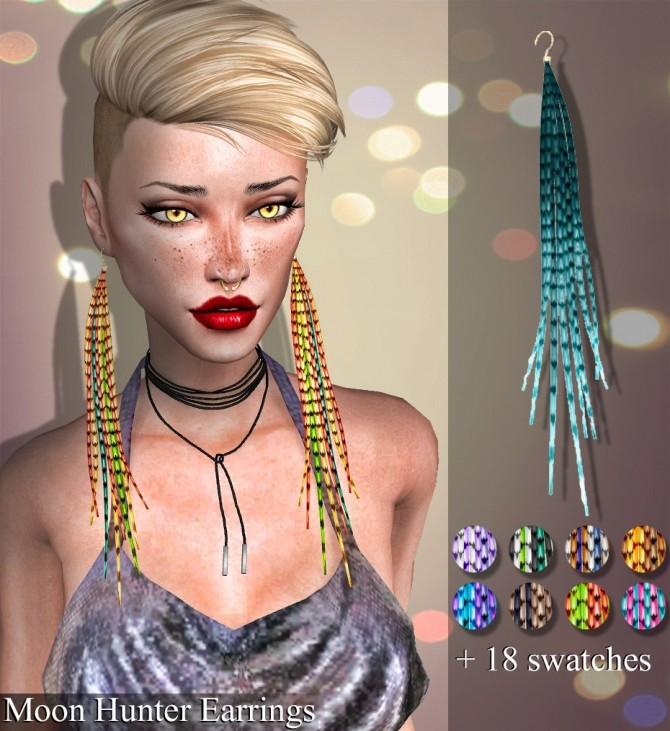 Azure Abyss & Moon Hunter earrings at Deep Space image 227 670x731 Sims 4 Updates