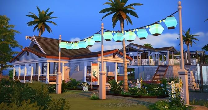 Une Part de Paradis pool at Simsontherope image 2271 670x355 Sims 4 Updates