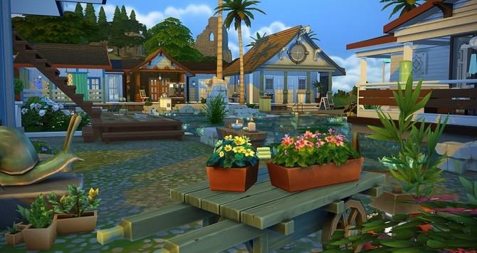 Une Part de Paradis pool at Simsontherope image 2291 670x355 Sims 4 Updates