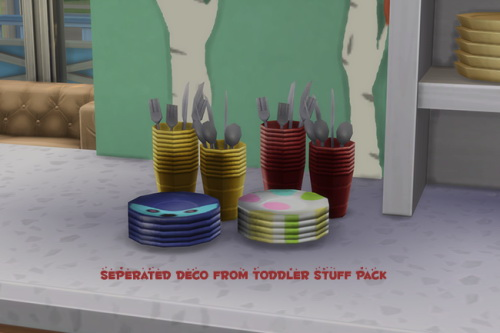Sims 4 Toddler Pack Clutter at ChiLLis Sims
