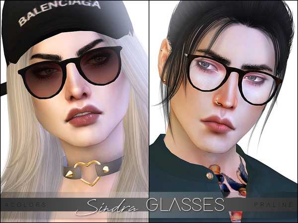 Sindra Glasses by Pralinesims at TSR image 2316 Sims 4 Updates