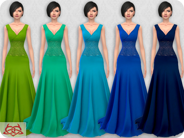 Wedding Dress 10 RECOLOR 1 by Colores Urbanos at TSR image 2324 Sims 4 Updates