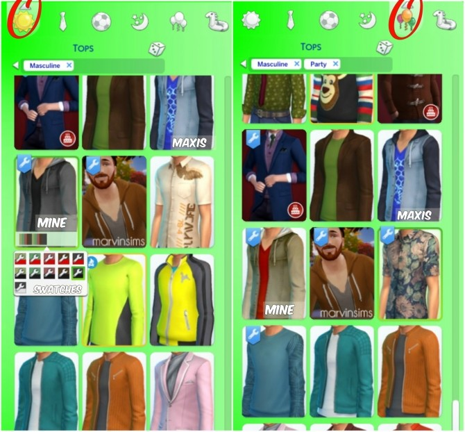 Sims 4 Lucis Jacket BG Recolour by SouperCooky at Mod The Sims