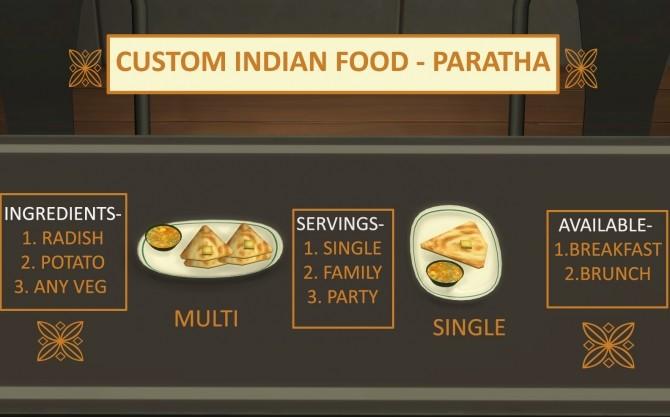 Custom Indian Food Paratha by icemunmun at Mod The Sims image 2421 670x417 Sims 4 Updates