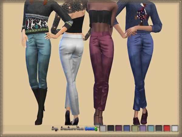 Pants Silk by bukovka at TSR image 2614 Sims 4 Updates