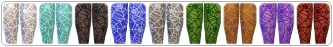 Happy Halloween Tights at Annett's Sims 4 Welt image 2652 670x95 Sims 4 Updates
