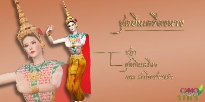Sims 4 Thai Dress at Ommo Sims