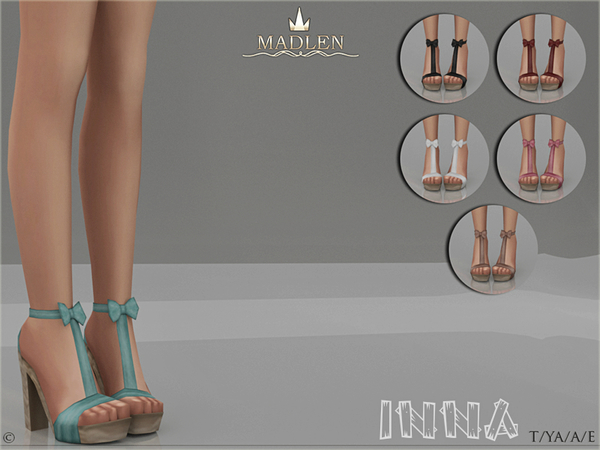 Sims 4 Madlen Inna Shoes by MJ95 at TSR
