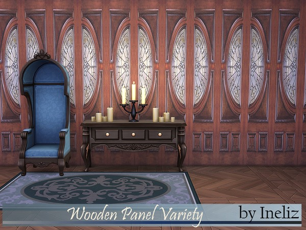 Wooden Panel Variety by Ineliz at TSR image 274 Sims 4 Updates