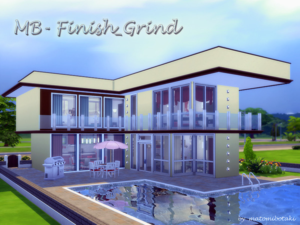 MB Finish Grind house by matomibotaki at TSR image 2810 Sims 4 Updates