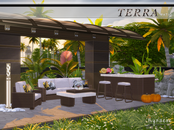 Terra Patio by NynaeveDesign at TSR image 2817 Sims 4 Updates