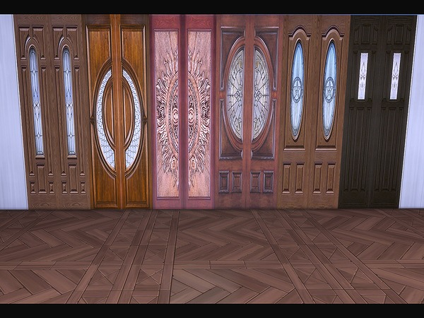 Wooden Panel Variety by Ineliz at TSR image 284 Sims 4 Updates