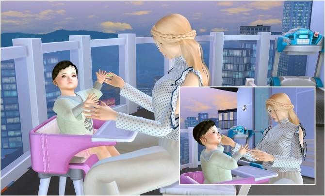 Feeding toddler posepack at Rethdis love image 289 670x405 Sims 4 Updates