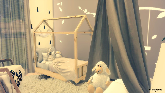 Tiny Toddler Bedroom at Evey Sims image 2921 Sims 4 Updates