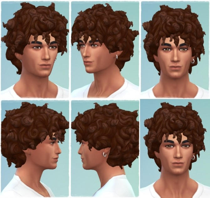 More Tight Curls A At Birksches Sims Blog Sims 4 Updates