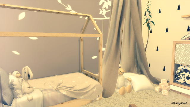 Tiny Toddler Bedroom at Evey Sims image 2941 Sims 4 Updates