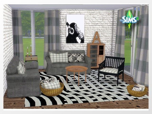 Jope Livingroom 5 by Oldbox at All 4 Sims image 300 Sims 4 Updates