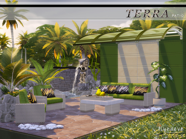 Terra Patio by NynaeveDesign at TSR image 3016 Sims 4 Updates