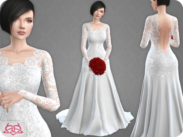 Wedding Dress 10 By Colores Urbanos At Tsr 187 Sims 4 Updates