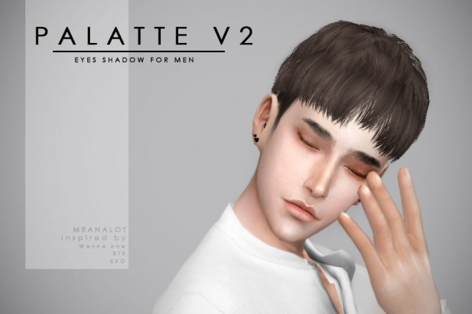 PALETTE V2 Eyeshadow for men at Mr.Analot image 3052 670x446 Sims 4 Updates