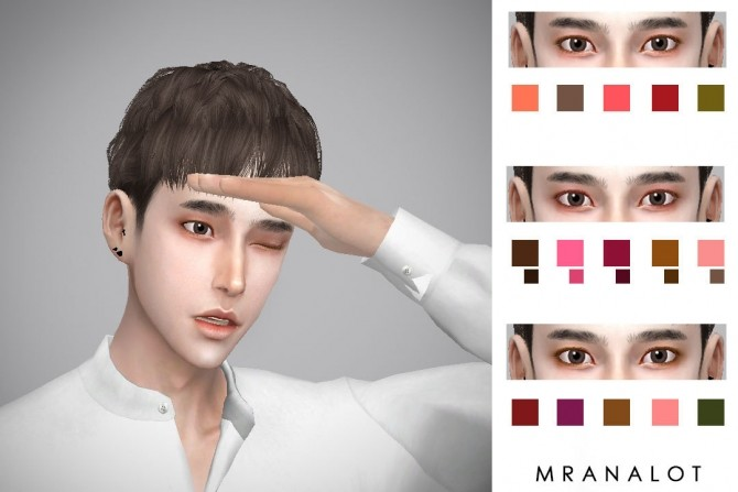 PALETTE V2 Eyeshadow for men at Mr.Analot image 3061 670x447 Sims 4 Updates
