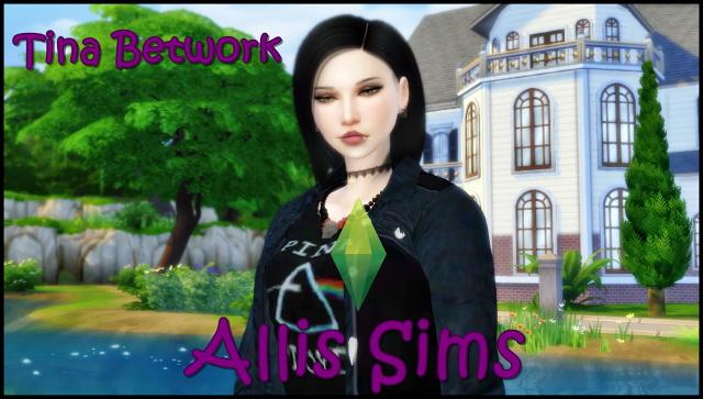 Sims 4 TINA BETWORK at Allis Sims