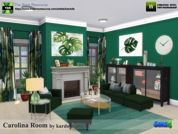 Carolina Room by kardofe at TSR image 316 Sims 4 Updates