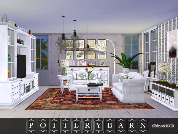 Living Pottery Barn by ShinoKCR at TSR image 317 Sims 4 Updates