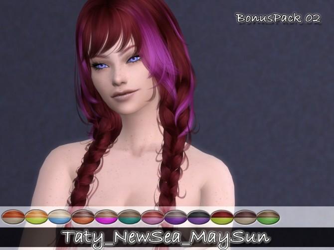 Newseas Maysun hair recolors at Taty – Eámanë Palantír image 3182 670x503 Sims 4 Updates