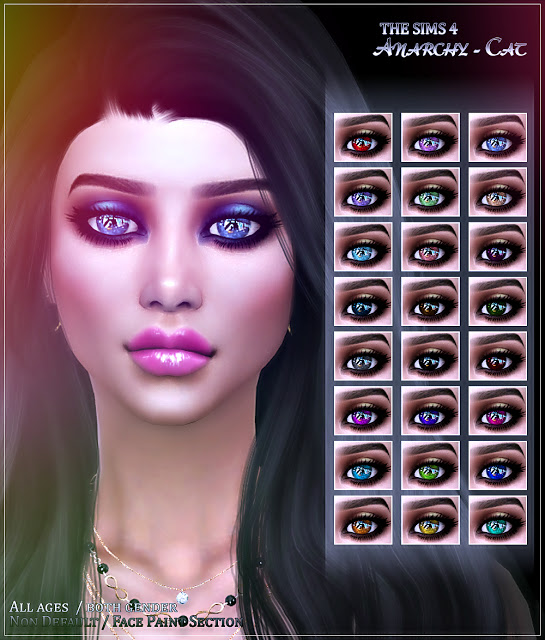 Eyes #4 at Anarchy Cat image 3191 Sims 4 Updates