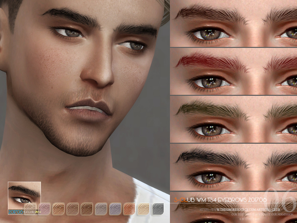 Eyebrows M 201706 by S Club WM at TSR image 321 Sims 4 Updates