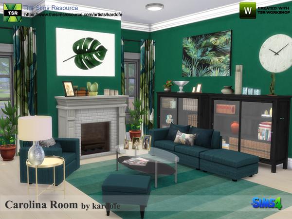 Carolina Room by kardofe at TSR image 323 Sims 4 Updates