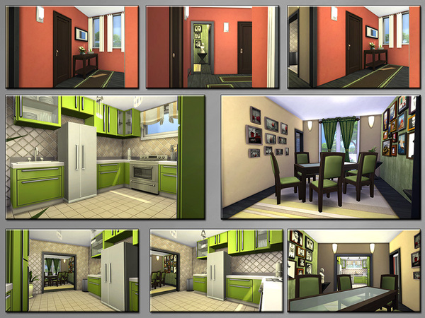 Sims 4 Side by Side home by matomibotaki at TSR