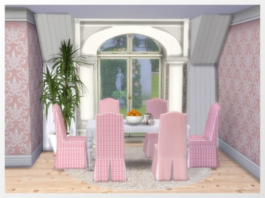 Adele Dining Chair recolors at Oldbox Home image 326 Sims 4 Updates