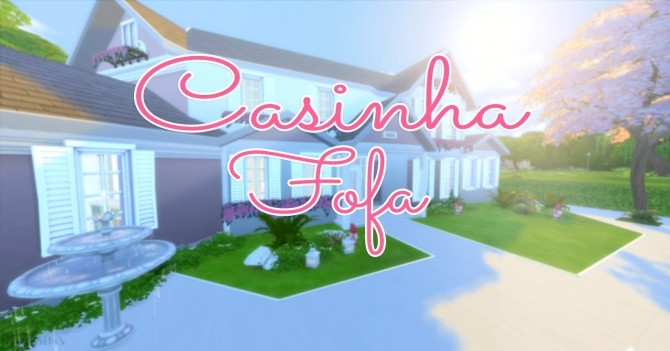 Casinha Fofa house at Mony Sims image 329 670x351 Sims 4 Updates