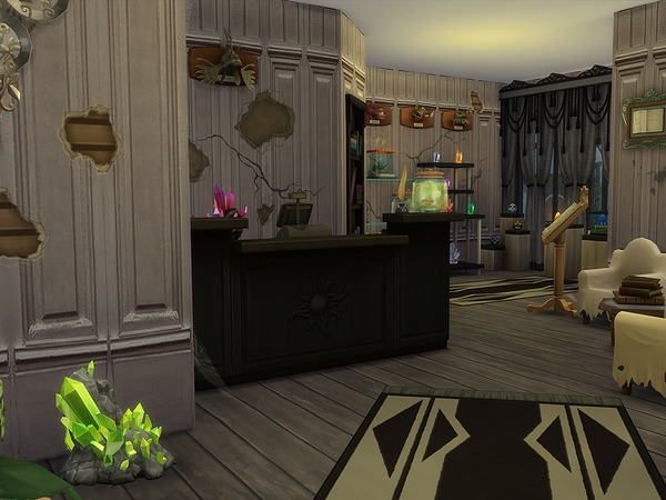 The Peculiar Lab & Store by Ineliz at TSR image 3314 Sims 4 Updates