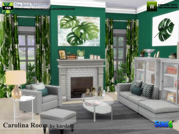 Carolina Room by kardofe at TSR image 333 Sims 4 Updates