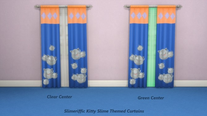 Slimeriffic Curtains and Toy chest by Snowhaze at Mod The Sims image 334 670x377 Sims 4 Updates