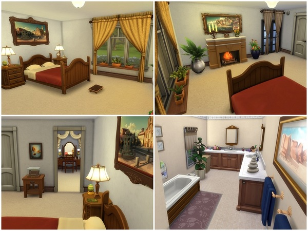 Country Farmhouse by galadrijella at TSR image 335 Sims 4 Updates