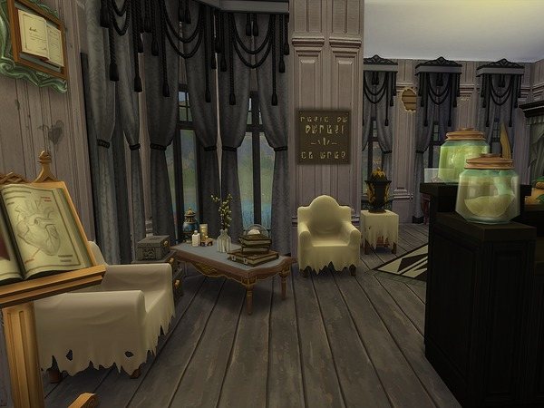 The Peculiar Lab & Store by Ineliz at TSR image 3414 Sims 4 Updates
