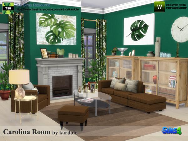 Carolina Room by kardofe at TSR image 342 Sims 4 Updates