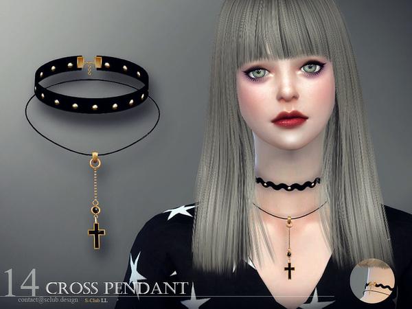 Sims 4 Collar 14 by S Club LL at TSR