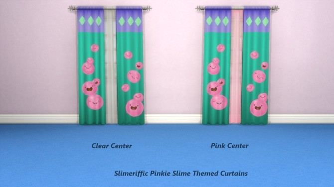 Slimeriffic Curtains and Toy chest by Snowhaze at Mod The Sims image 343 670x377 Sims 4 Updates