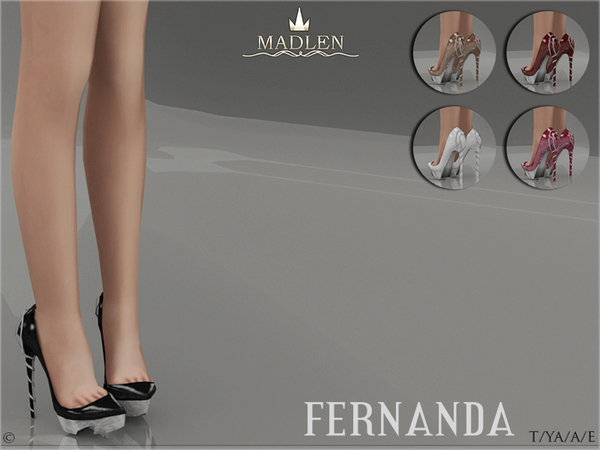 Madlen Fernanda Shoes by MJ95 at TSR image 35 Sims 4 Updates