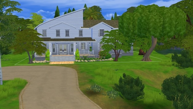 Sims 4 Magnólia house by iSandor at Mod The Sims