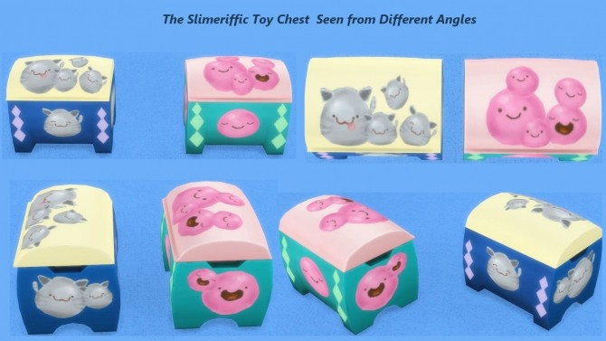 Slimeriffic Curtains and Toy chest by Snowhaze at Mod The Sims image 353 670x377 Sims 4 Updates