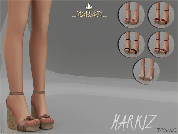 Sims 4 Madlen Markiz Shoes by MJ95 at TSR