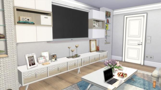 Lina Livingroom at Dinha Gamer image 3641 670x377 Sims 4 Updates