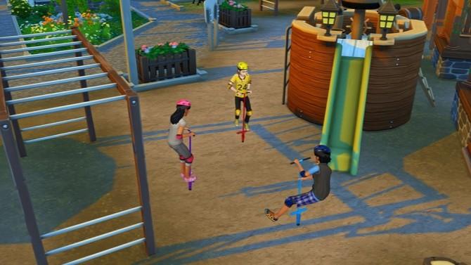Pogo Stick Pose for Kids at Josie Simblr image 370 670x377 Sims 4 Updates