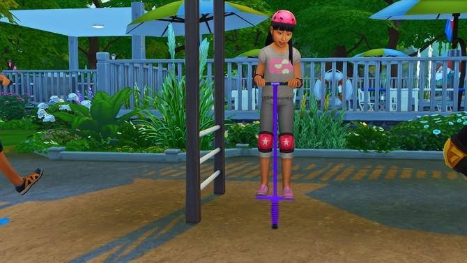 Pogo Stick Pose for Kids at Josie Simblr image 3711 670x377 Sims 4 Updates